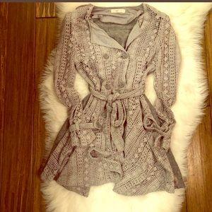 Hazel Brand Sweater/Coat